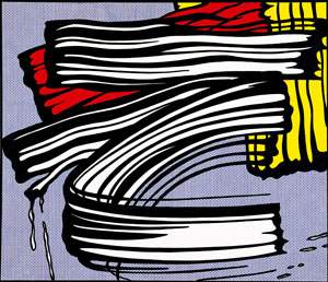 Roy Lichtenstein.  Kunst als Motiv, Little Big Painting (1965)